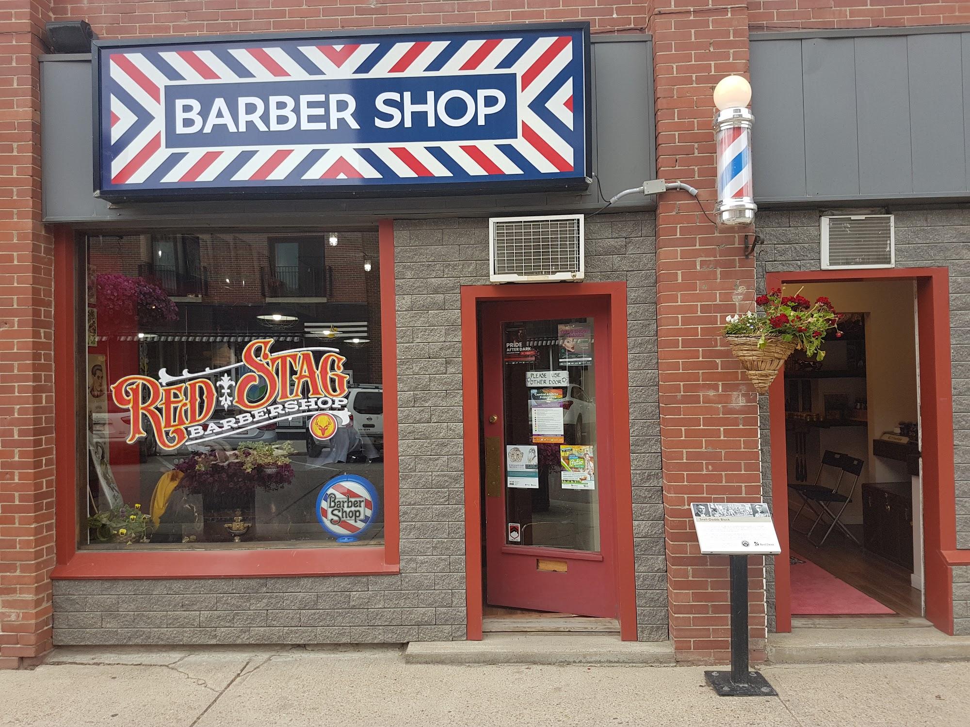 Red Stag Barbershop 4918 50 Ave, Red Deer