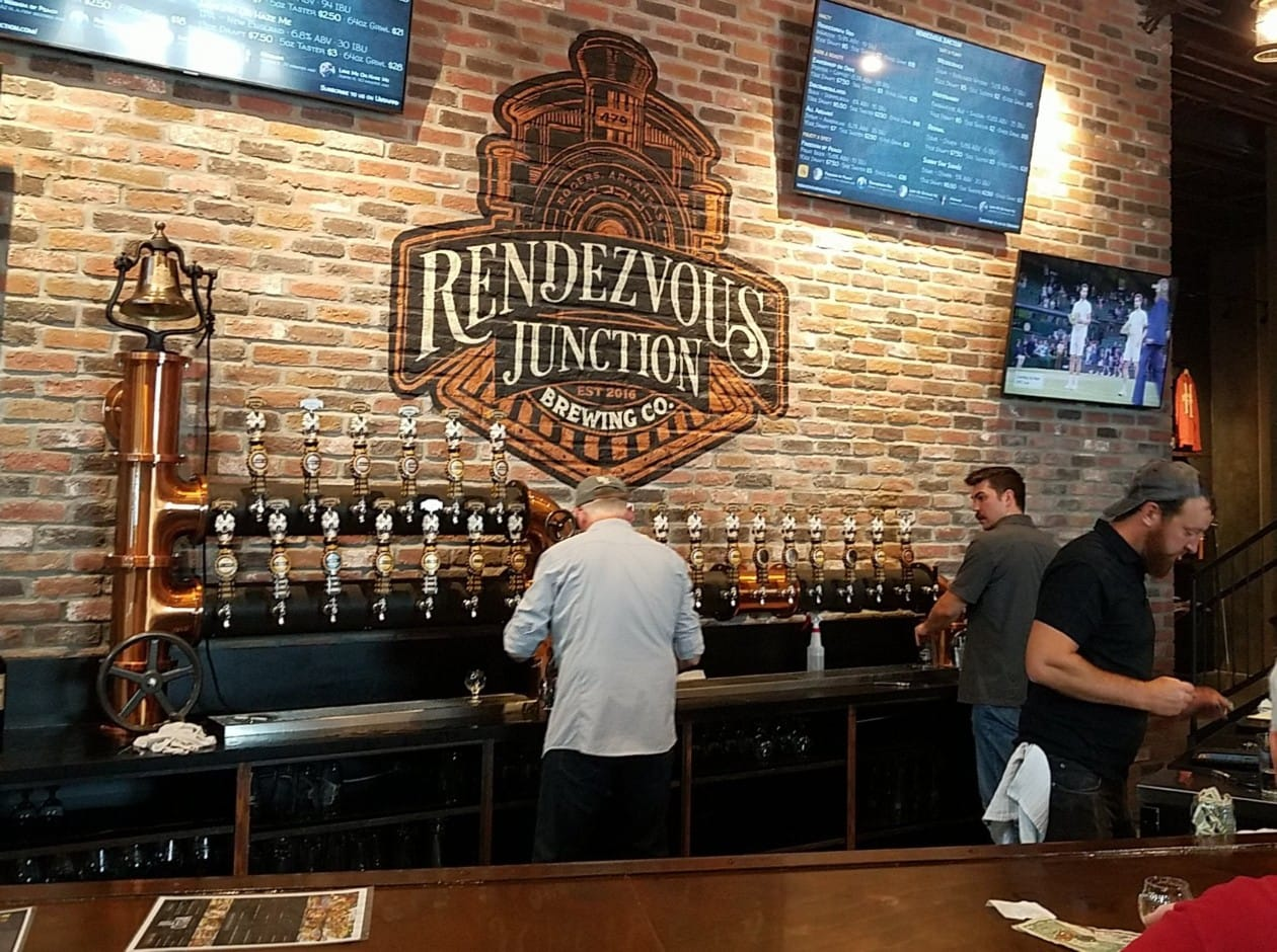 Rendezvous Junction Brewing Co. 2225 S Bellview Rd Suite 101, Rogers