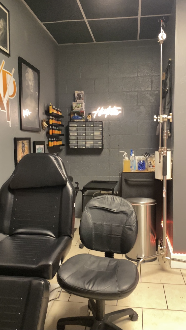 Xavier price tattoo studio 2950 S Alma School Rd suite 6, Mesa