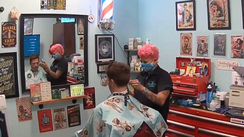 Black Stag Barbershop Inside Phenix Salon Suites 1051, Glendon Ave #124, Los Angeles
