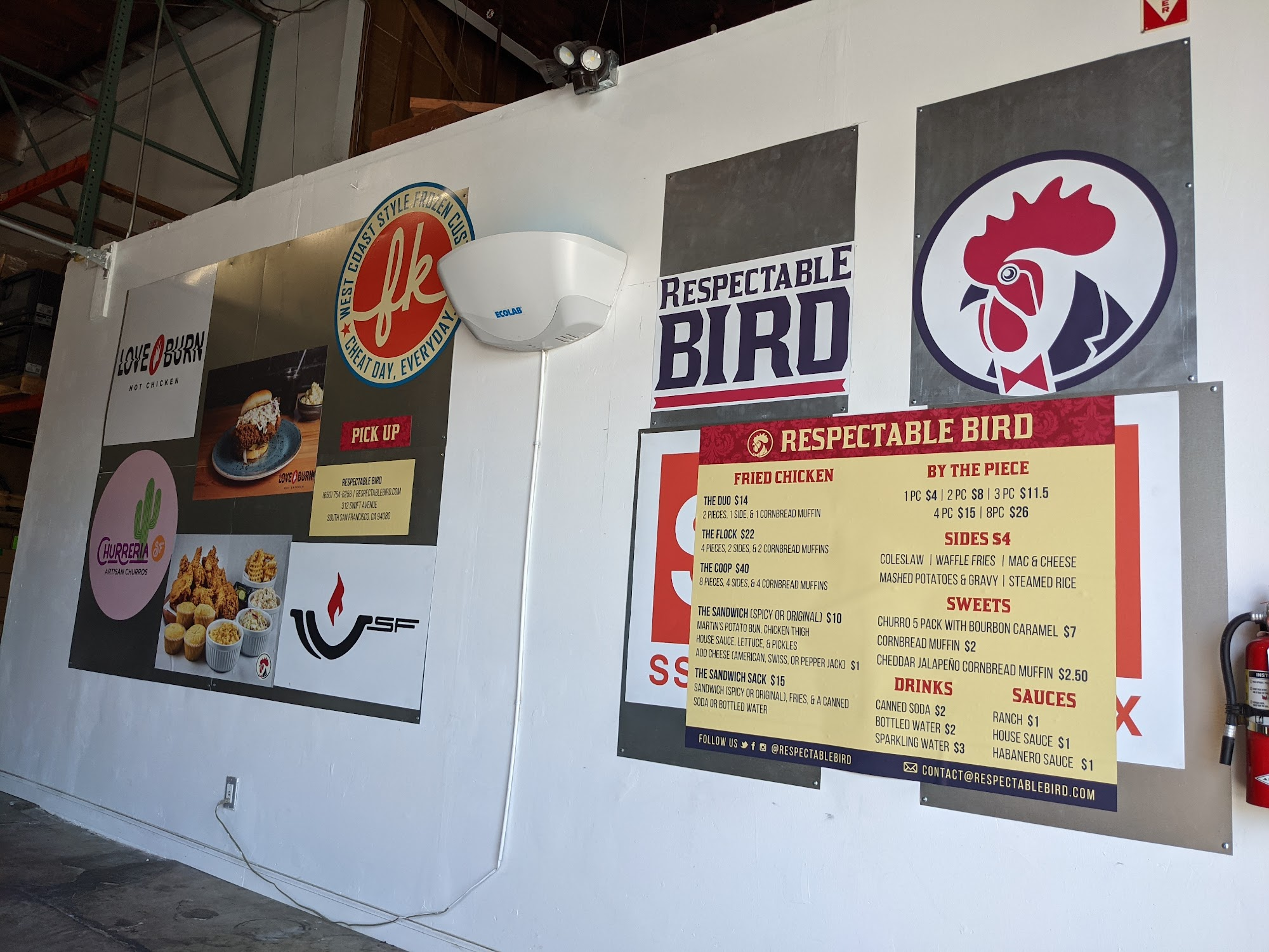 SSF Chickenbox 312 Swift Ave, South San Francisco