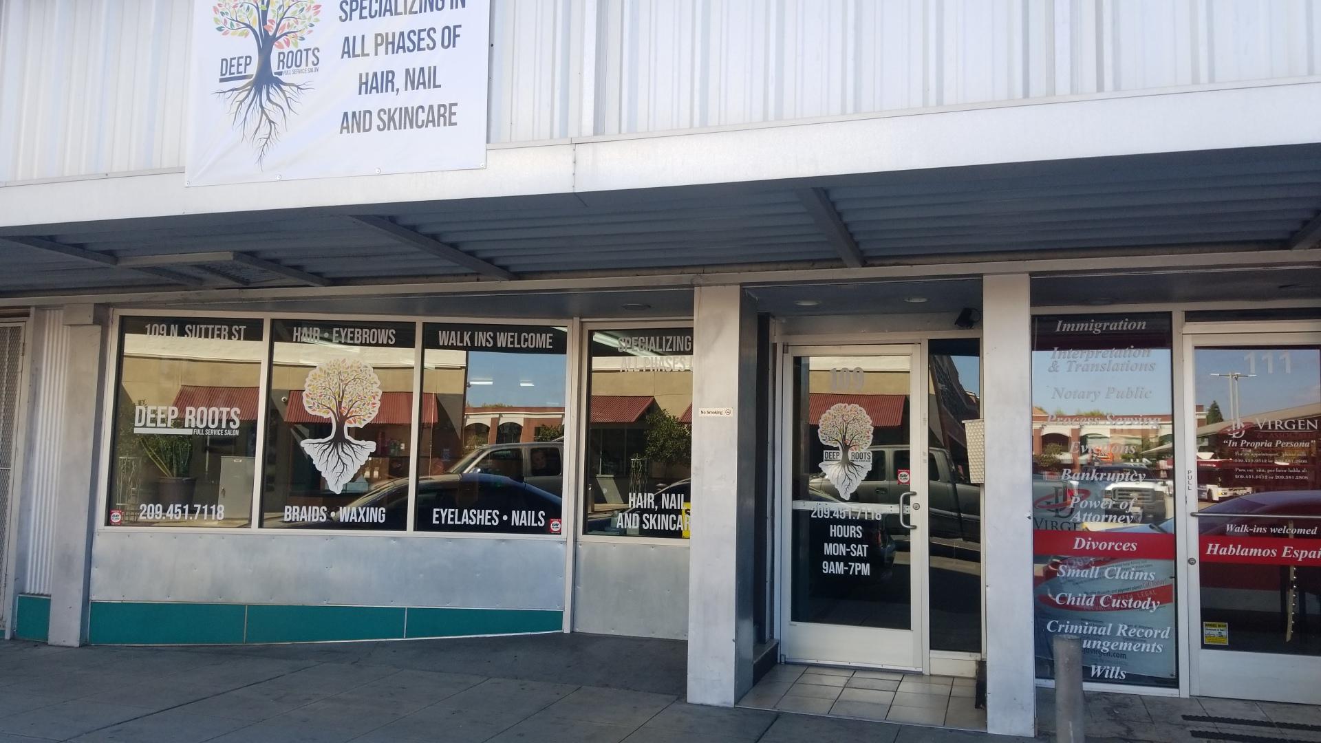 Deep Roots Full Service Salon 109 N Sutter St, Stockton