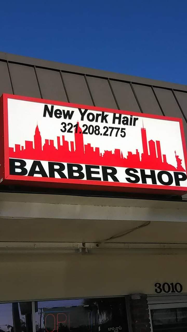 New York Hair Barbershop 101 W Florida Ave, Melbourne