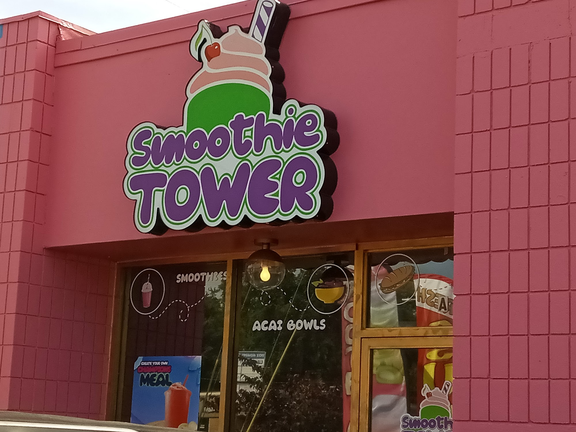 Smoothie Tower 1205 S Adams St, Tallahassee