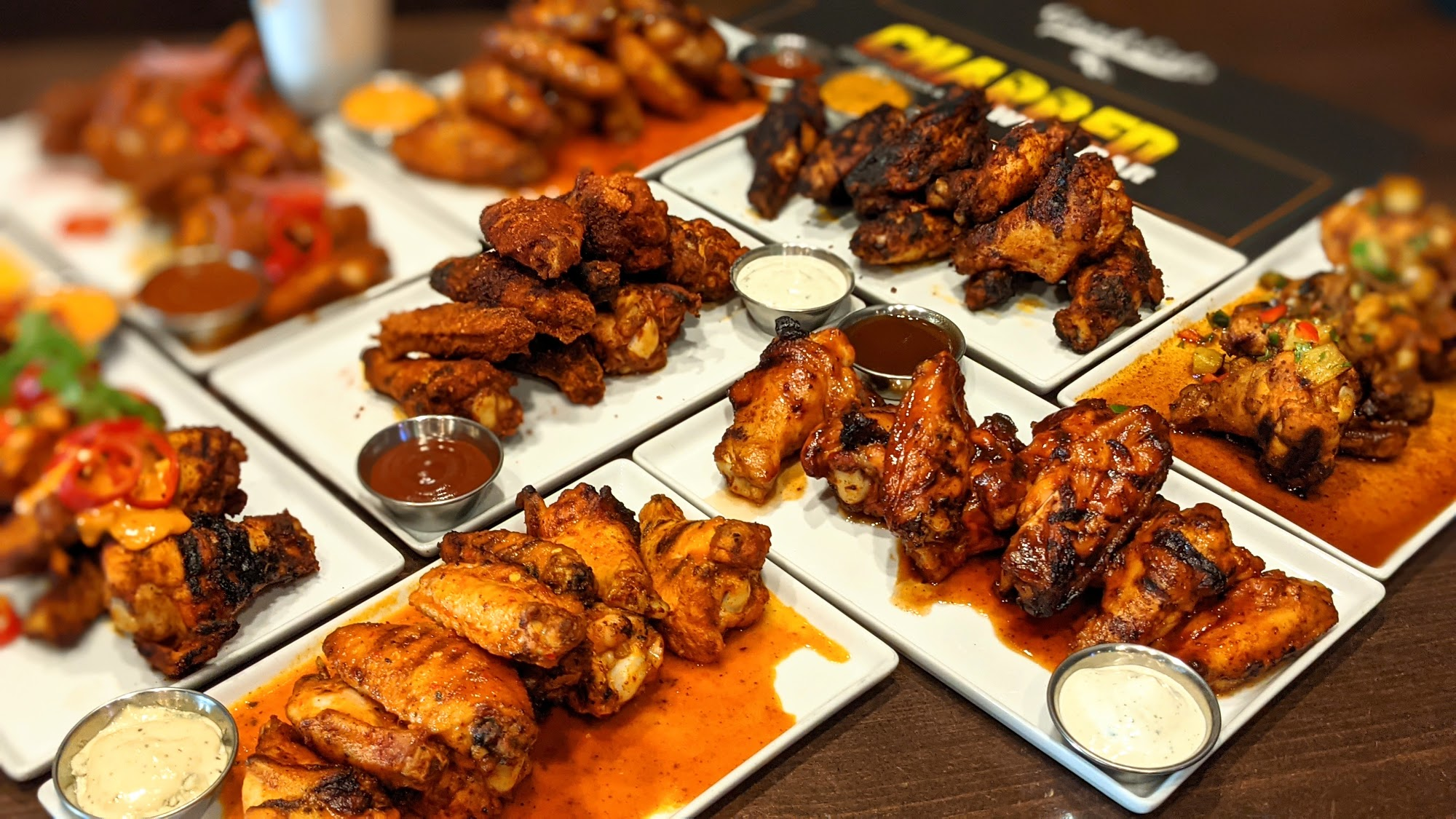 CHARRED | Wing Bar 1150 S Michigan Ave, Chicago