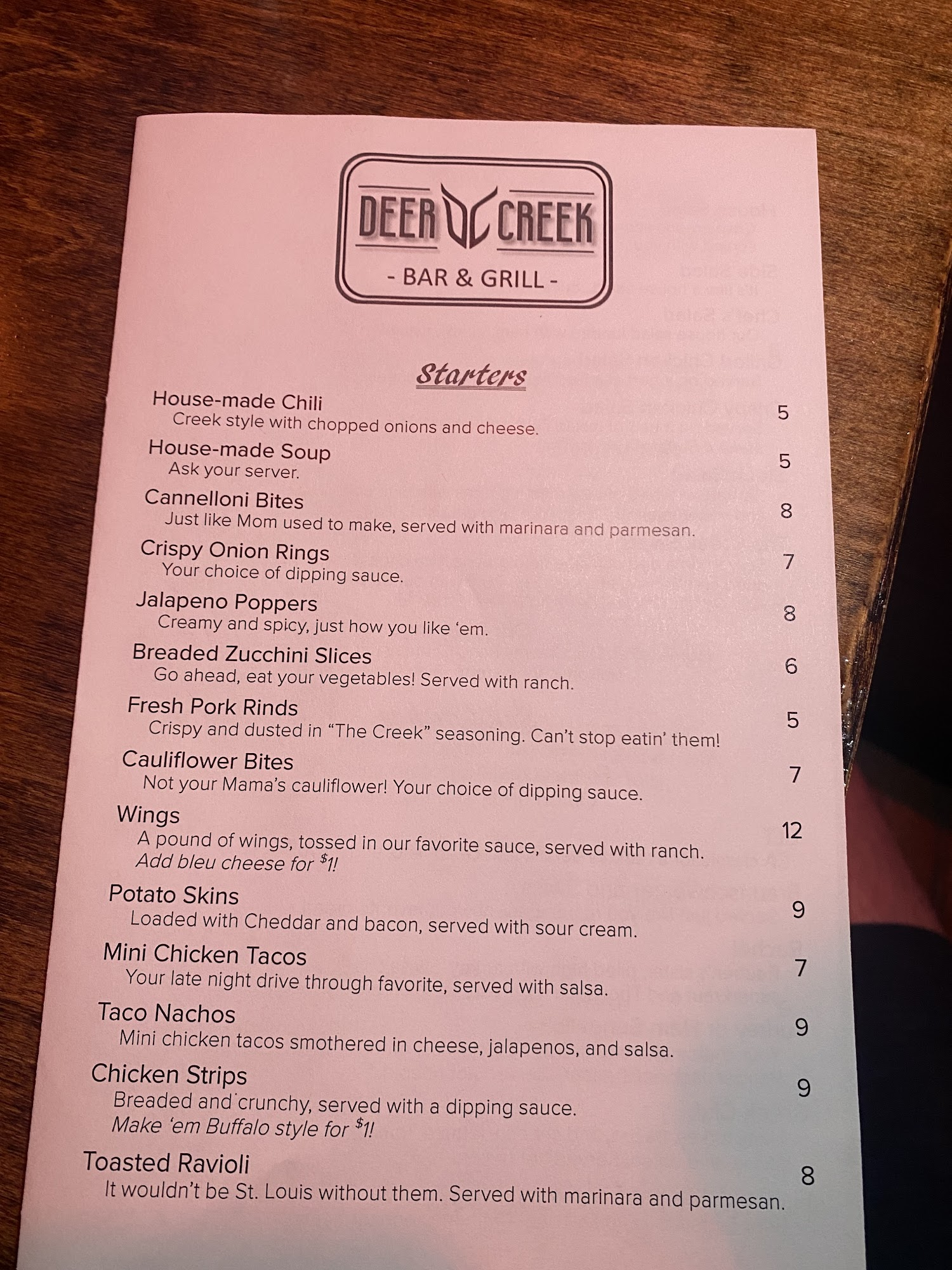 Deer Creek Bar & Grill 3233 Laclede Station Rd, Maplewood
