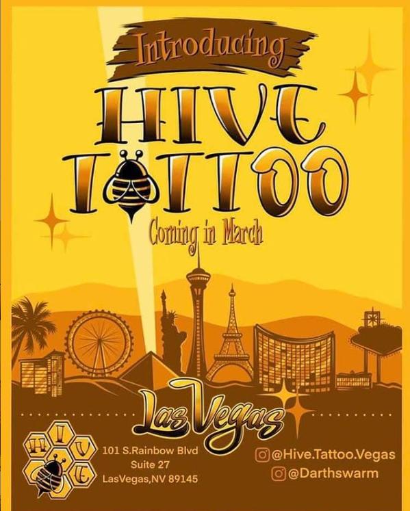Hive Tattoo 101 S Rainbow Blvd Suite 27, Las Vegas