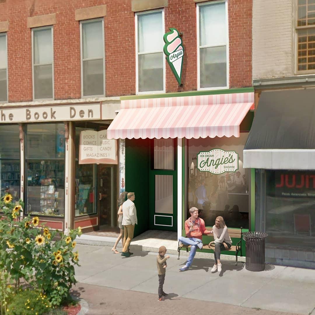 Angie's Ice Cream Shoppe 172 Main St, Dansville