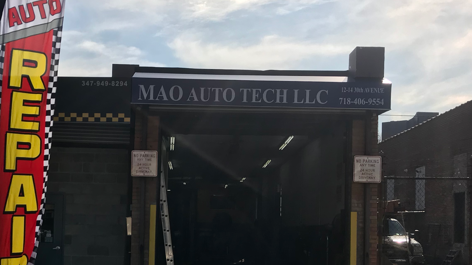 Mao Auto Tech   Auto Repair & NYS Inspection 12-14 30th Ave, Queens
