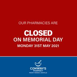Conway's Pharmacy -Mount Vernon and Danville-