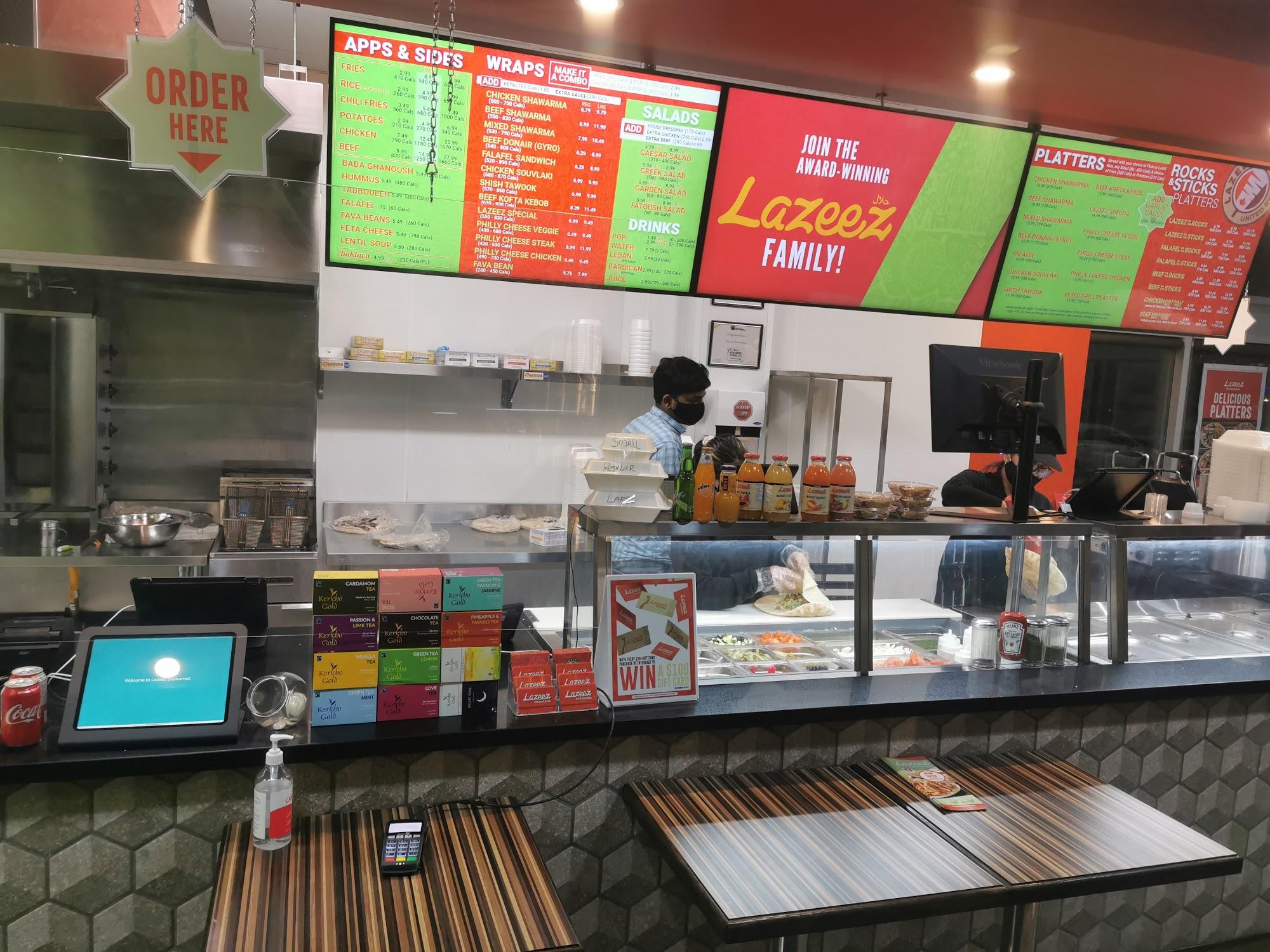 Lazeez Shawarma 1812 Simcoe St N, Oshawa