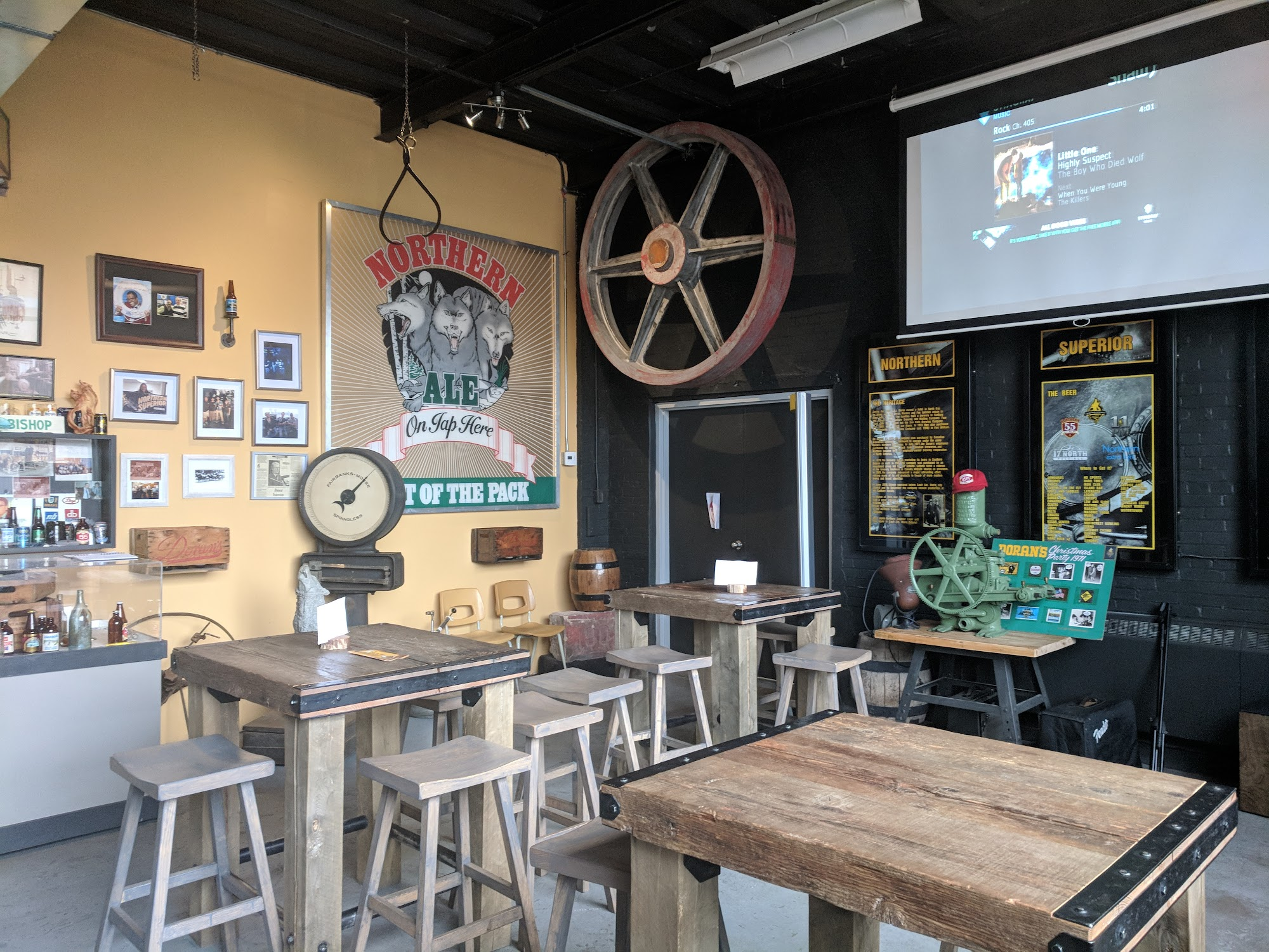 Northern Superior Brewing Co. and The Tap Room 50 Pim St, Sault Ste. Marie