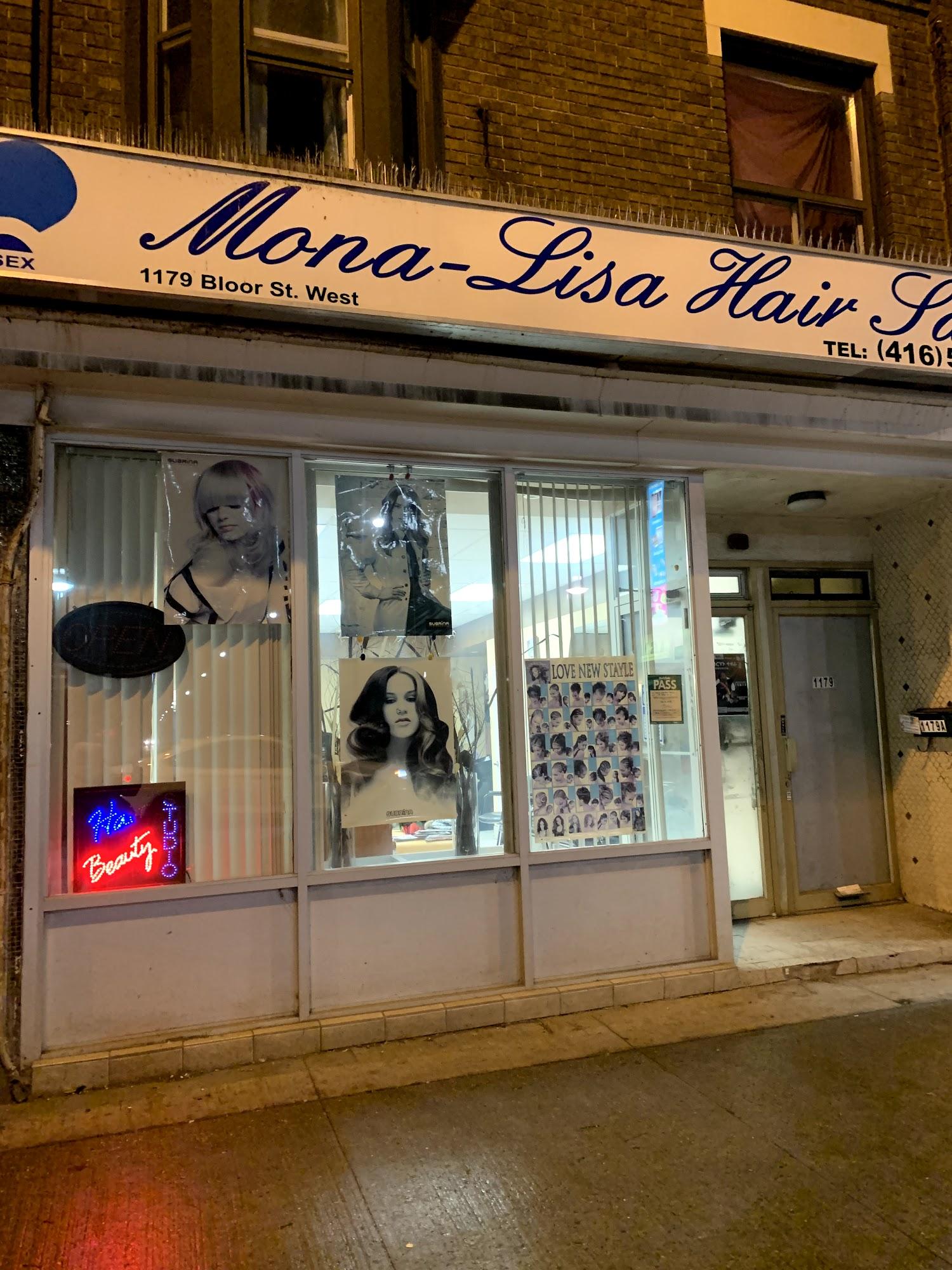 Mona Lisa Hair Salon 1179 Bloor St W, Toronto