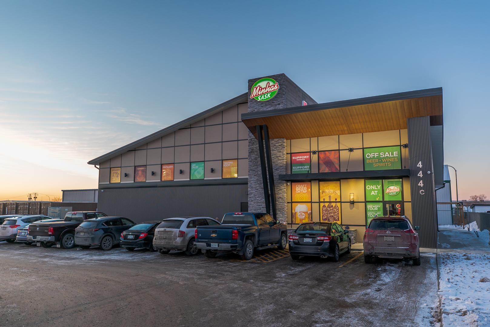 Minhas Sask Distillery, Winery and Brewery 435 McDonald St, Regina