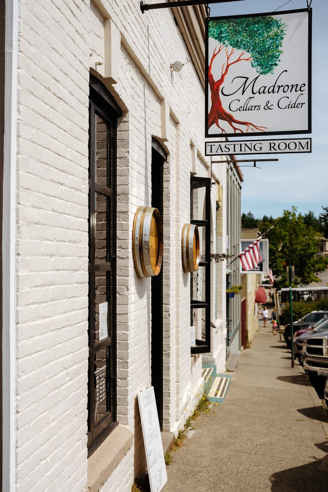 Madrone Cellars & Cider Tasting Room 40 First St S, Friday Harbor